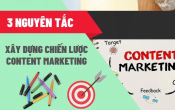 3 nguyên tắc trong xây dựng chiến lược Content Marketing
