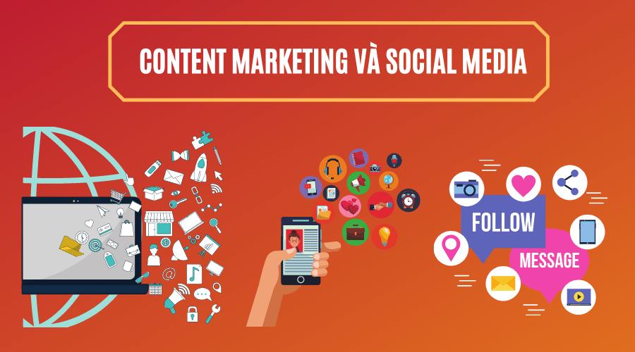 Social Media Marketing và Content Marketing